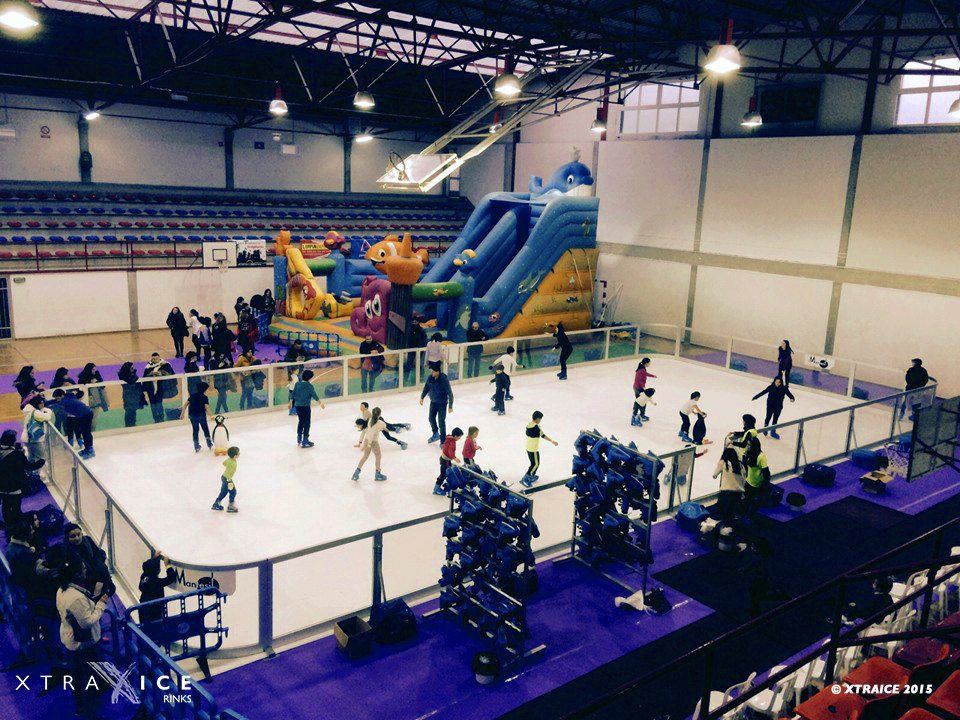 synthetic ice rink Indiana