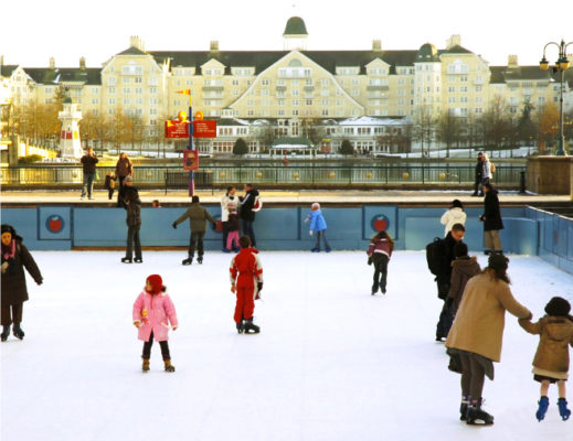 synthetic ice rink rental Indiana