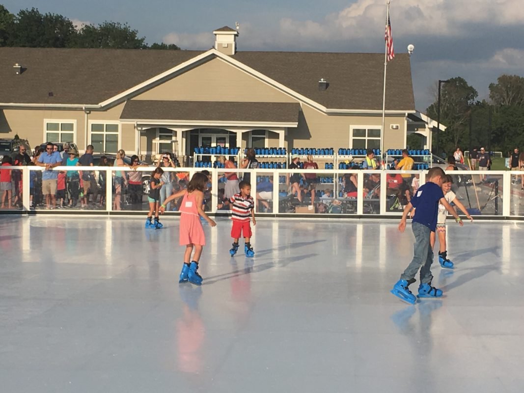 iceless skating rinks